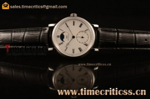 IWC TriIWC89185 Portofino Vintage Moonphase White Dial Steel Watch (AAAF)