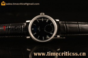 IWC TriIWC89186 Portofino Vintage Moonphase Black Dial Steel Watch (AAAF)