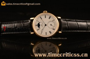 IWC TriIWC89187 Portofino Vintage Moonphase White Dial Yellow Gold Watch (AAAF)
