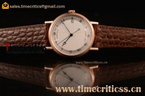 Breguet TriPN741 Classique White Dial Rose Gold Watch (AAAF)