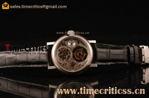 Breguet TriBE99020 Classique Complications Skeleton Dial Steel Watch