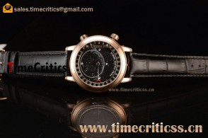 Patek Philippe Grand Complication Sky Moon Celestial 6102R Black Dial Rose Gold Watch