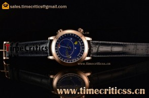 Patek Philippe Grand Complication Sky Moon Celestial 6102P Blue Dial Rose Gold Watch