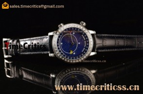 Patek Philippe Grand Complication Sky Moon Celestial 6102PD Blue Dial Steel Watch
