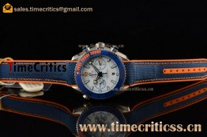 Omega Seamaster Planet Ocean Michael Phelps Limited Edition 215.32.46.51.04.001 White Dial Steel Watch
