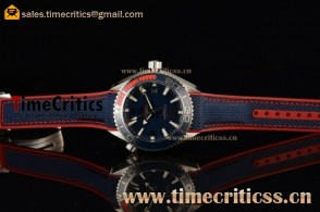 Omega Seamaster Planet Ocean 600M PyeongChang 2018 Limited Edition 522.32.44.21.03.001 Blue Dial Steel Watch