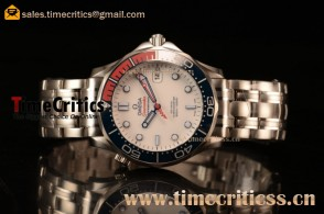 Omega Seamaster Diver 300 M TriOmg145240 1:1 Original Watch 212.32.41.20.04.001 Steel Case Ceramic(BP)
