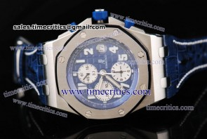 Audemars Piguet TriAP060 Royal Oak Offshore Blue Dial Steel Watch