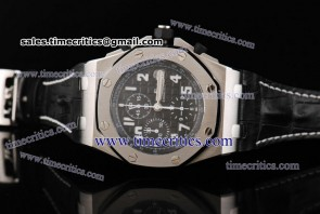 Audemars Piguet TriAP062 Royal Oak Offshore Black Dial Steel Watch