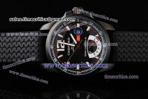 Chopard Trichp113 Mille Miglia Gran Turismo XL Power Reserve PVD Watch Black Dial