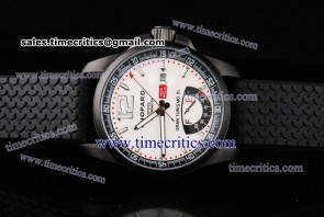 Chopard Trichp114 Mille Miglia Gran Turismo XL Power Reserve PVD Watch White Dial